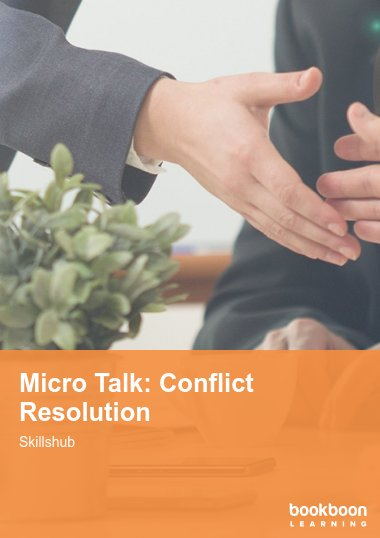 Micro Talk: Conflict Resolution