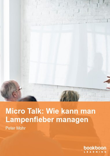 Micro Talk: Wie kann man Lampenfieber managen