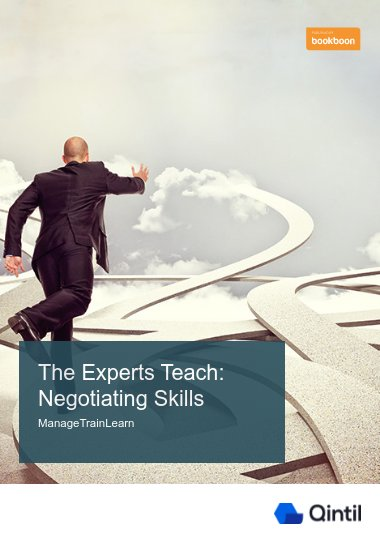 The Experts Teach: Negotiating Skills