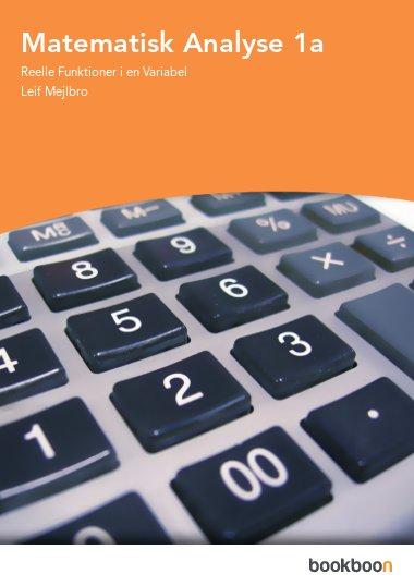 Matematisk Analyse 1a