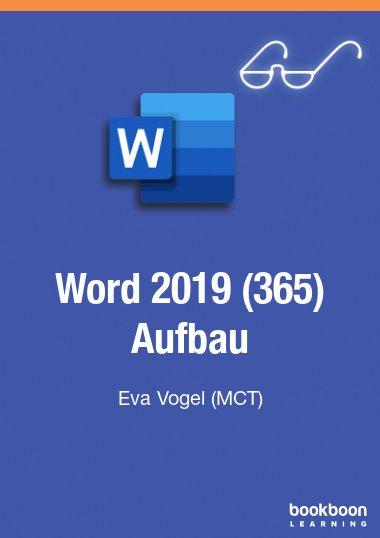 Word 2019 (365) Aufbau