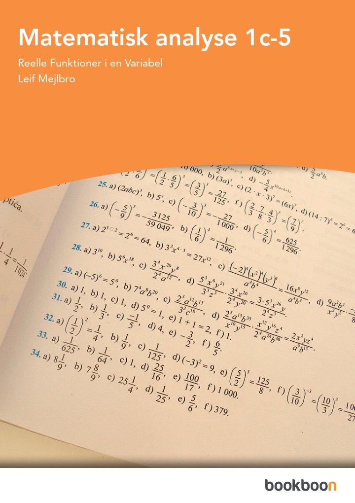 Matematisk analyse 1c-5