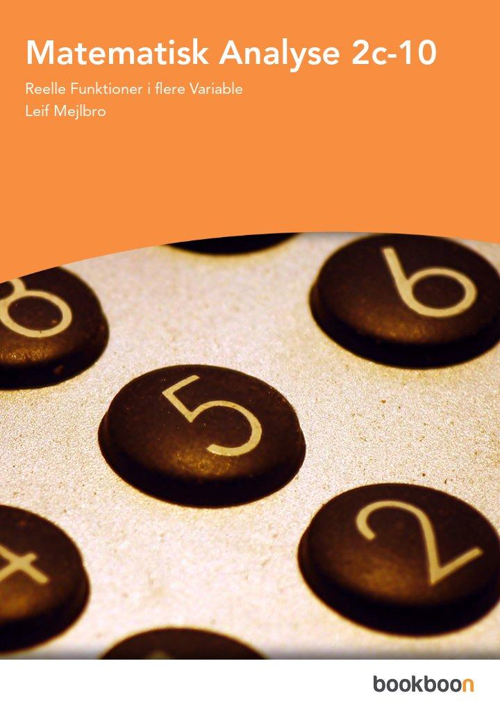 Matematisk Analyse 2c-10