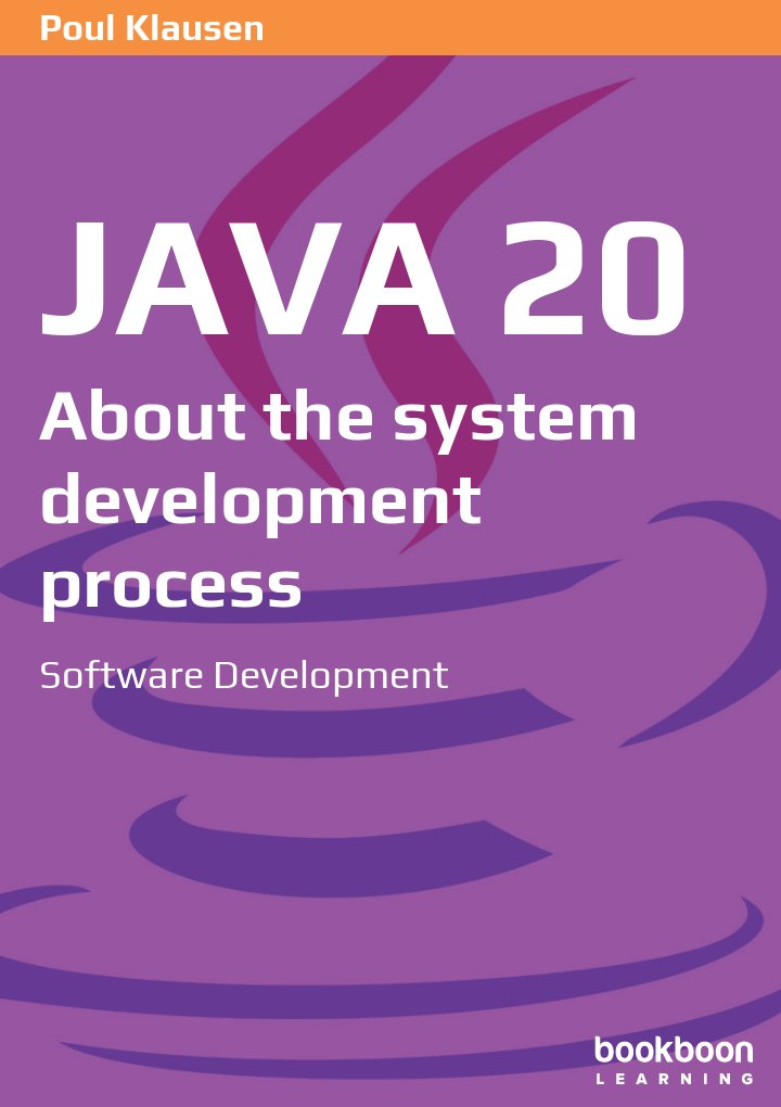 Java 20: About the system development process