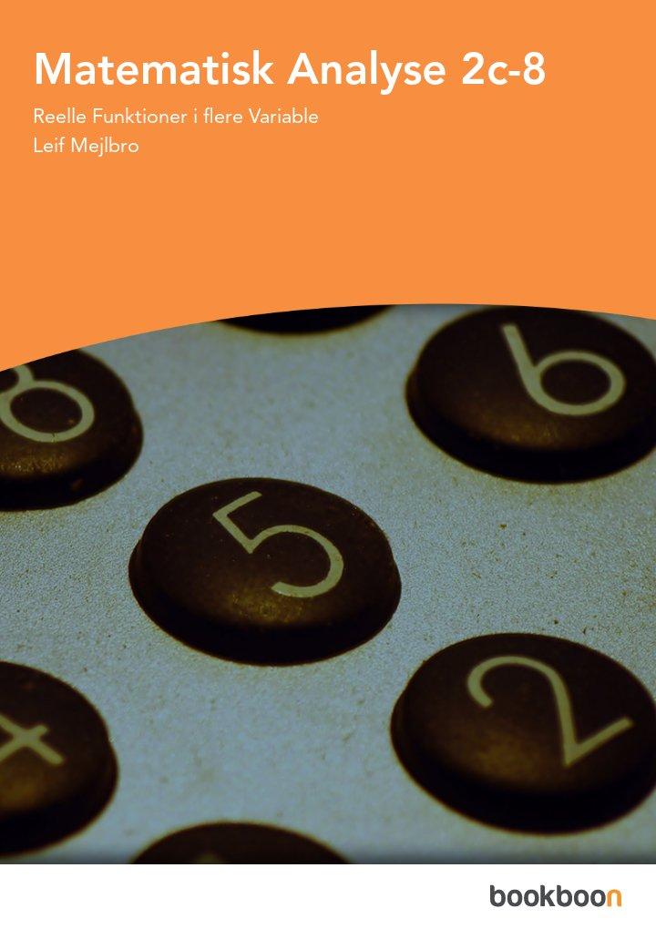 Matematisk Analyse 2c-8