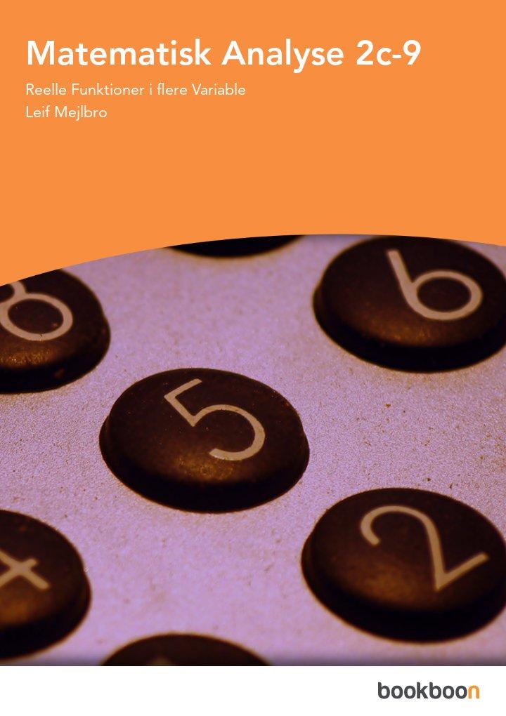 Matematisk Analyse 2c-9