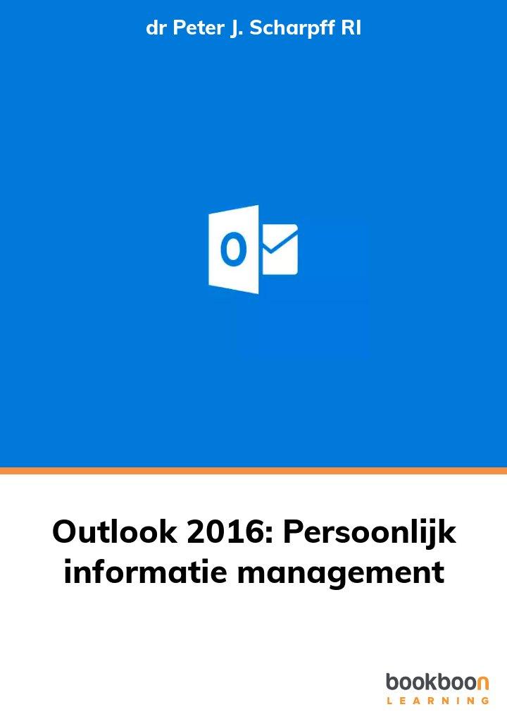 Outlook 2016: Persoonlijk informatie management