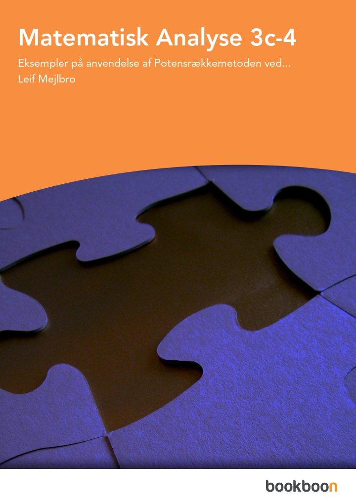Matematisk Analyse 3c-4