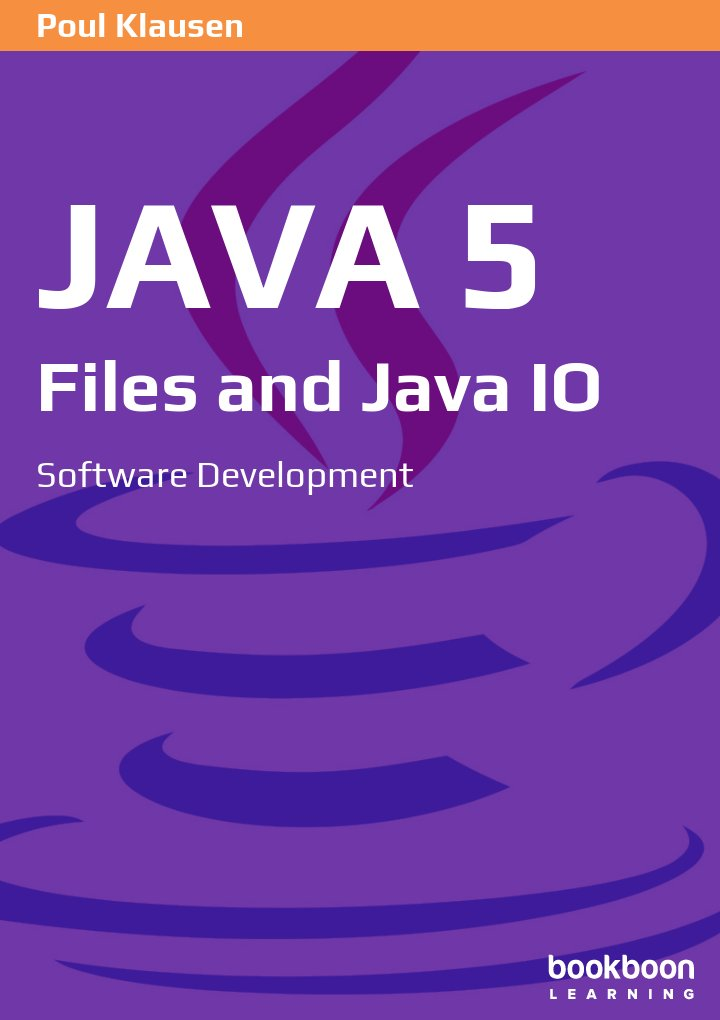 Java 5: Files and Java IO Software Development icon