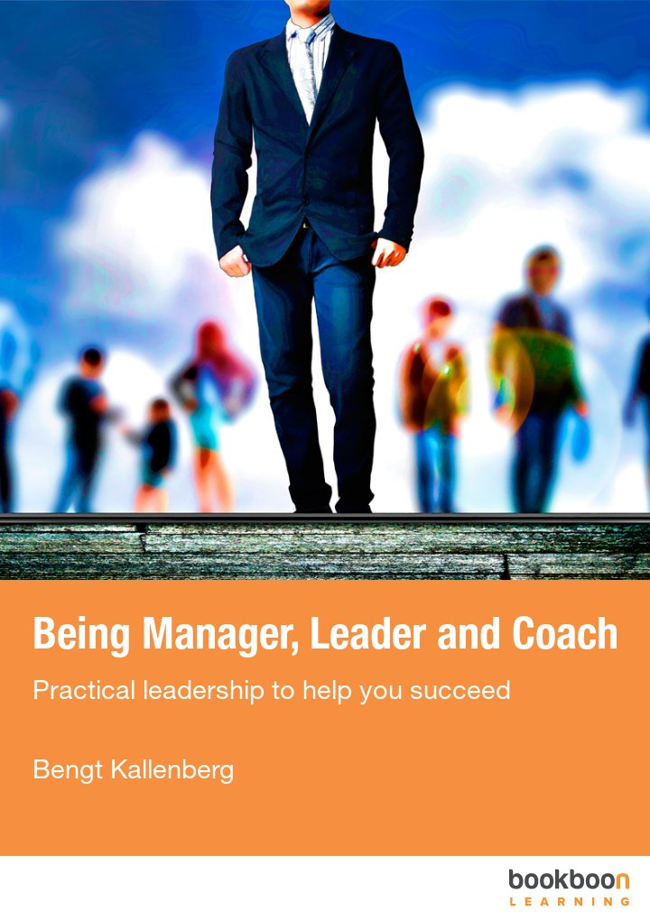 Being Manager, Leader and Coach