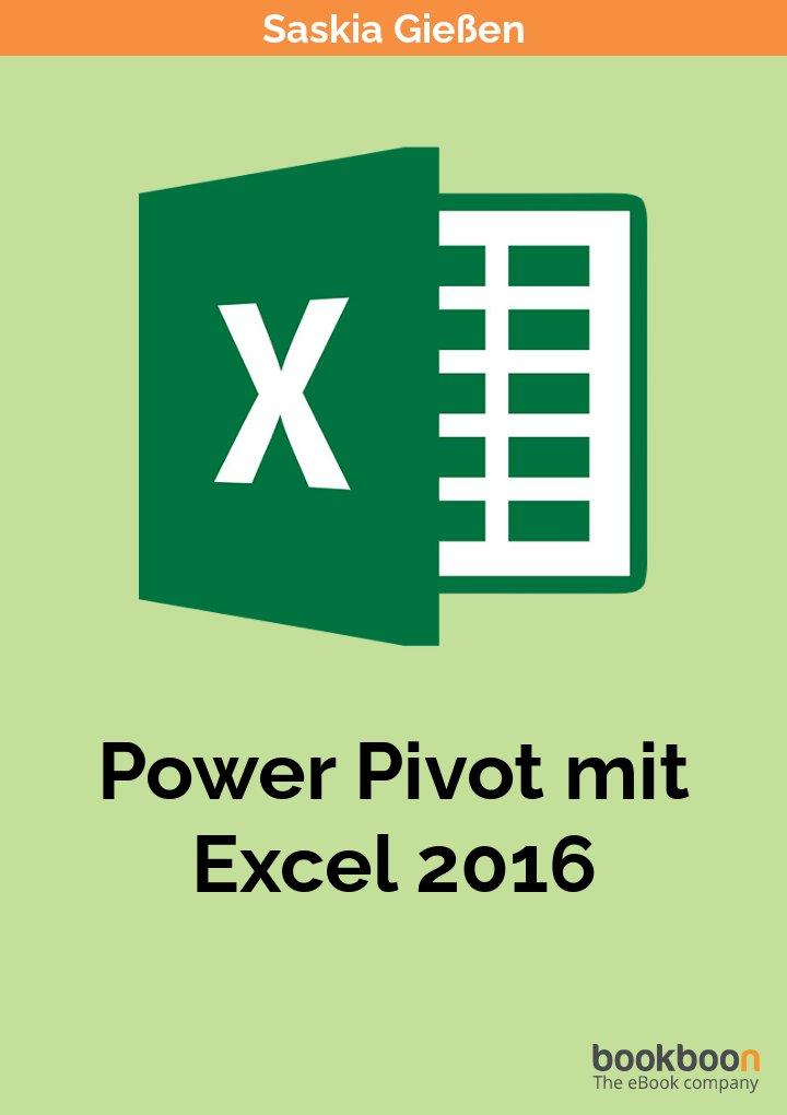Power Pivot mit Excel 2016