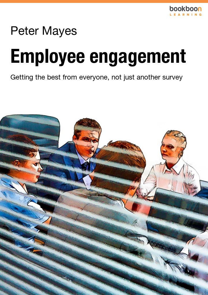 Employee engagement - Getting the best from everyone, not just another survey icon
