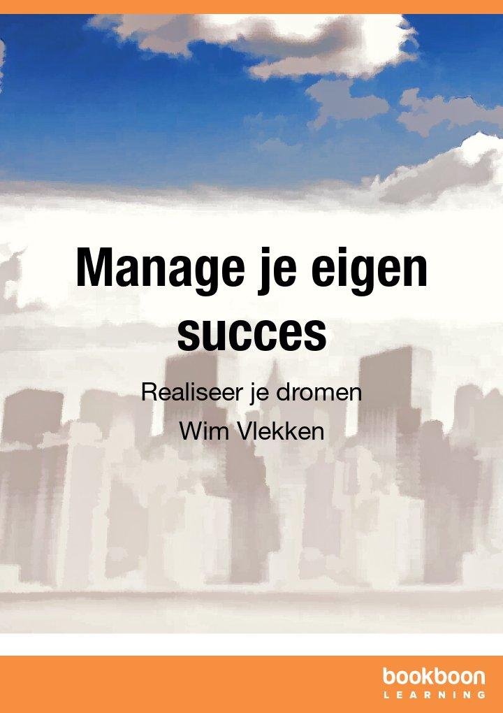 Manage je eigen succes
