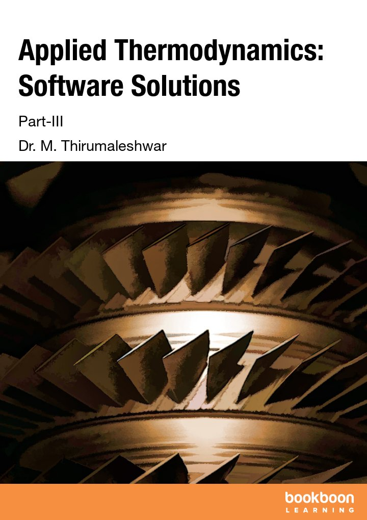 Applied Thermodynamics: Software Solutions