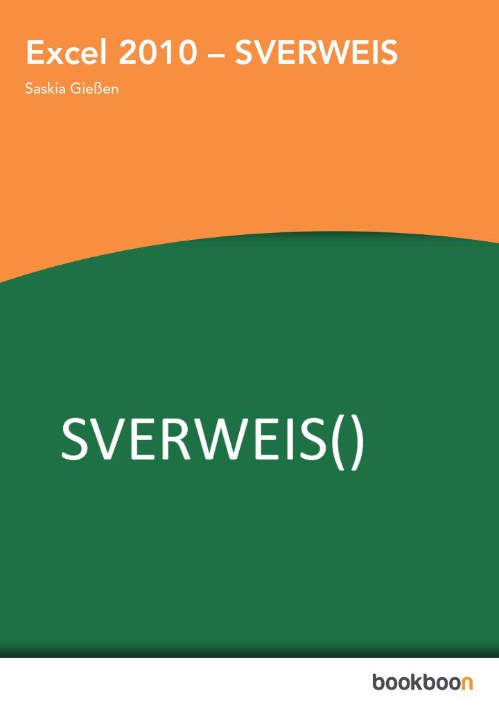 Excel 2010 – SVERWEIS