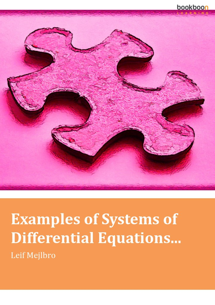 Calculus textbooks examples of systems of differential equations fandeluxe Images