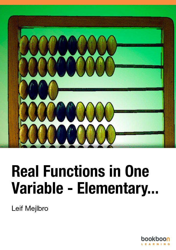 Real Functions in One Variable - Elementary...