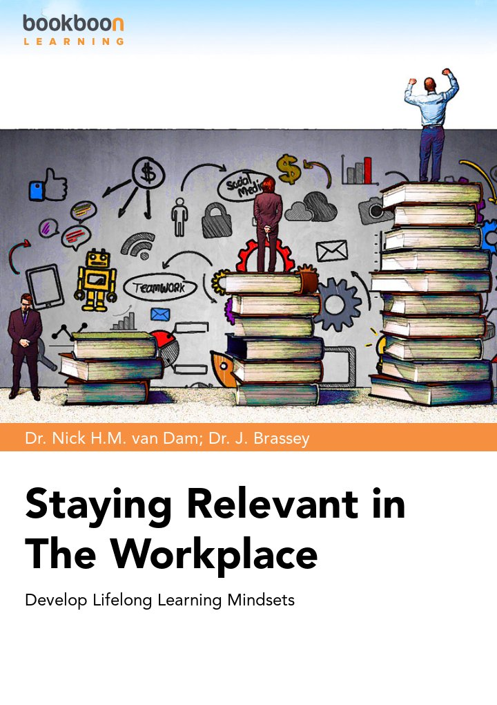 """Staying Relevant in The Workplace -  Develop Lifelong Learning Mindsets"" icon"