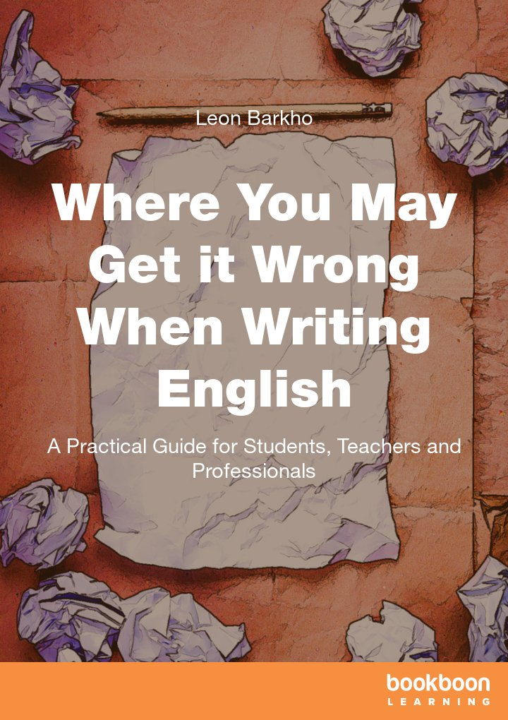 where you may get it wrong when writing english a