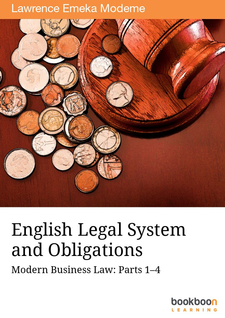 english legal system and obligations modern business law