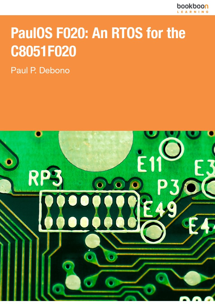PaulOS F020: An RTOS for the C8051F020