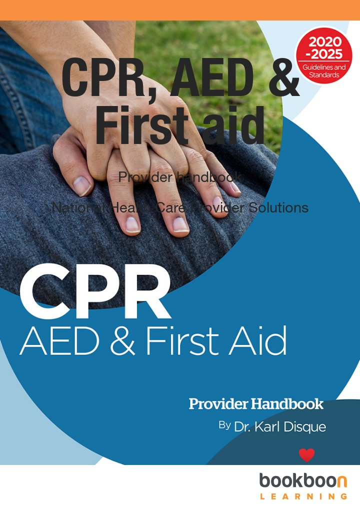 Cpr Aed First Aid Provider Handbook