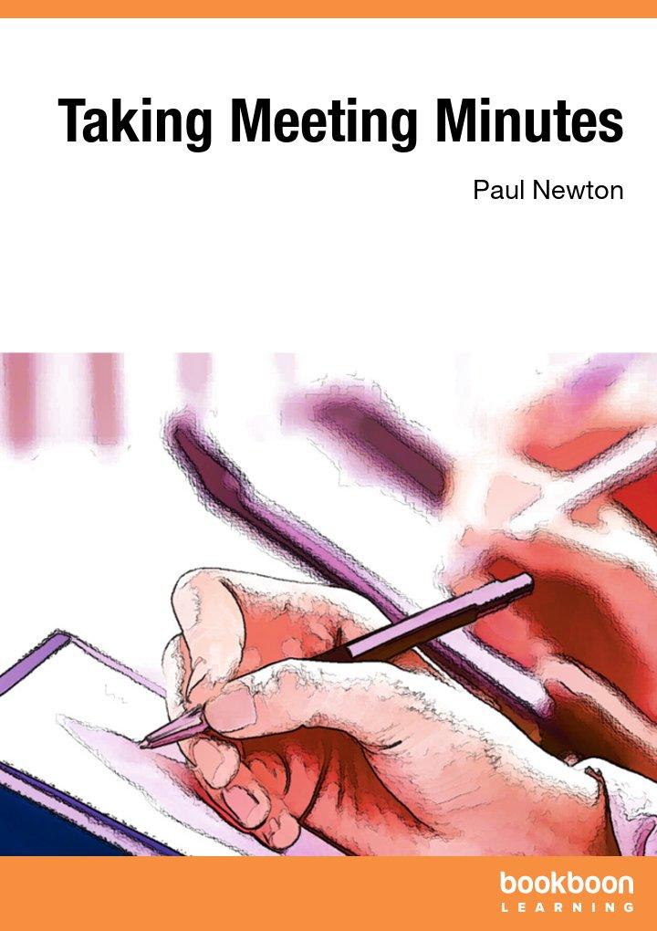 Taking Meeting Minutes