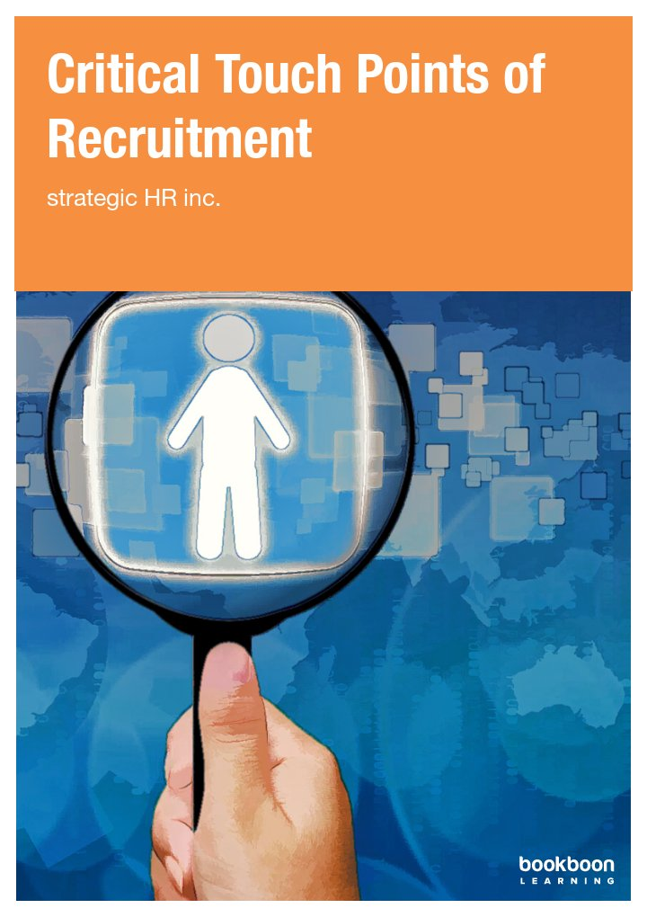Critical Touch Points of Recruitment