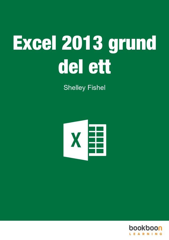 Excel 2013 grund del ett