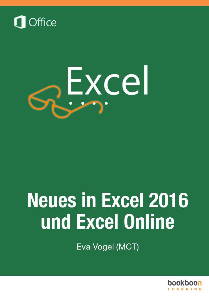 Neues in Excel 2016 und Excel Online