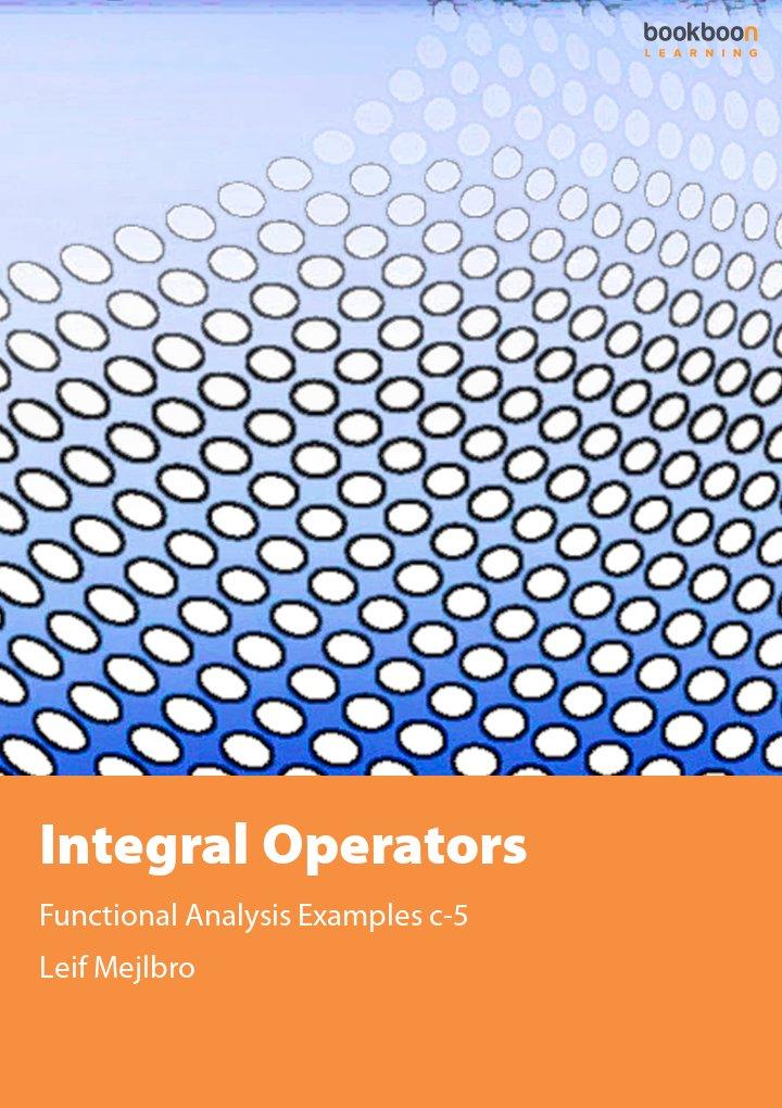 Integral Operators