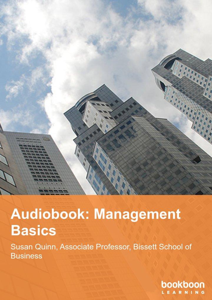 Audiobook: Management Basics