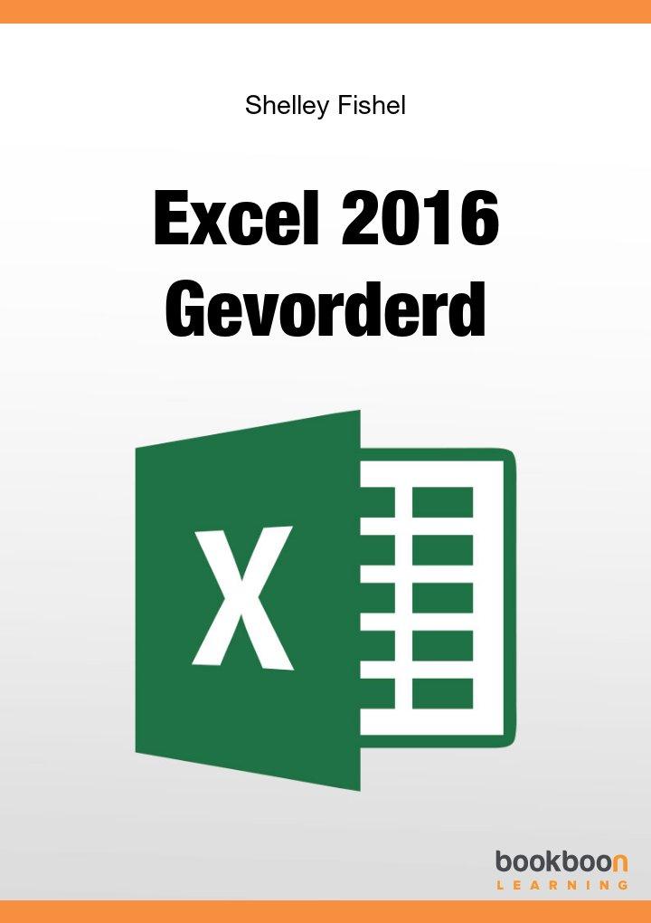 Excel 2016 Gevorderd