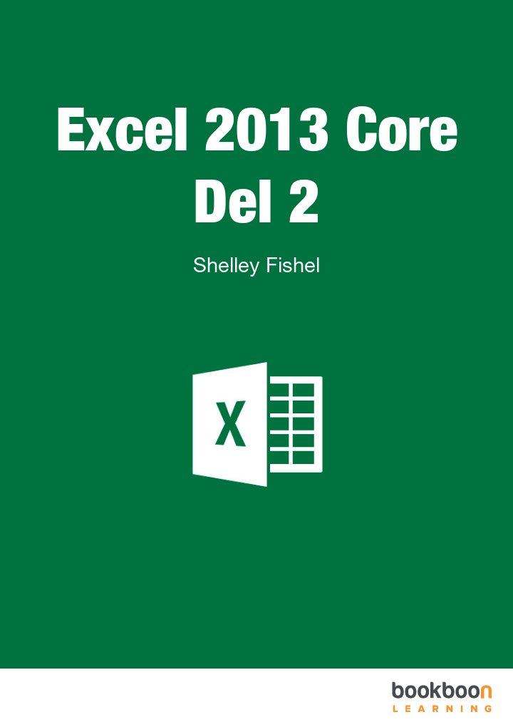Excel 2013 Core Del 2