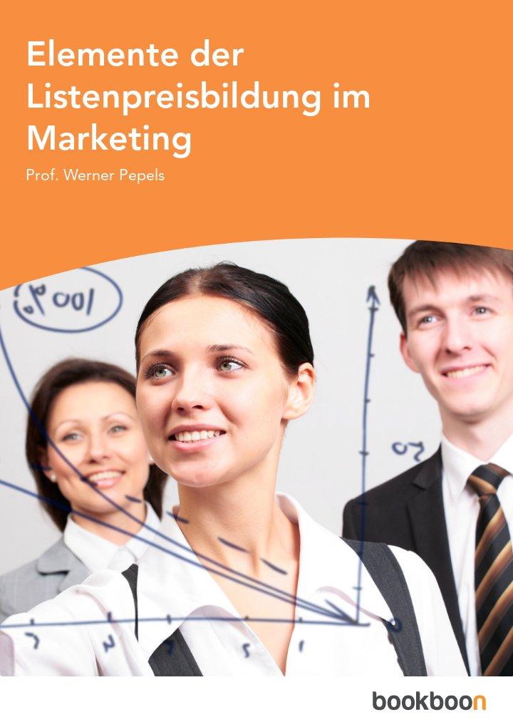 Elemente der Listenpreisbildung im Marketing
