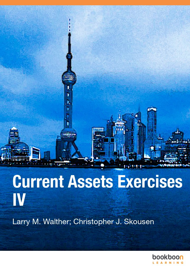 Current Assets Exercises IV