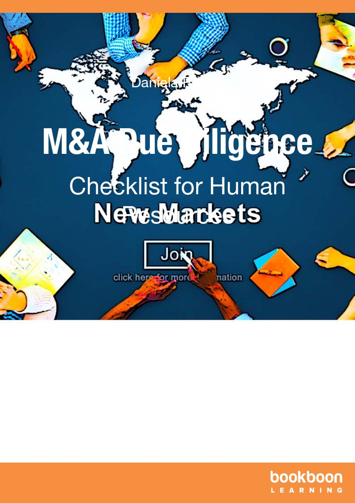 """M&A Due Diligence Checklist for Human Resources"" icon"