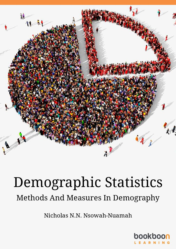 Demographic Statistics Methods And Measures In Demography icon