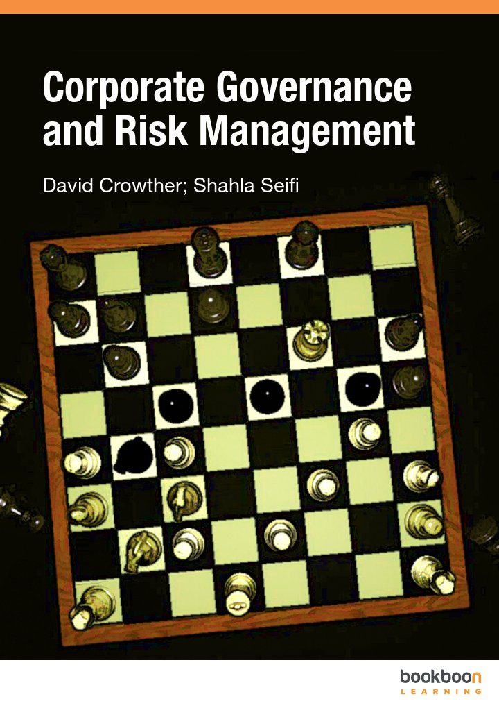 Corporate Governance and Risk Management