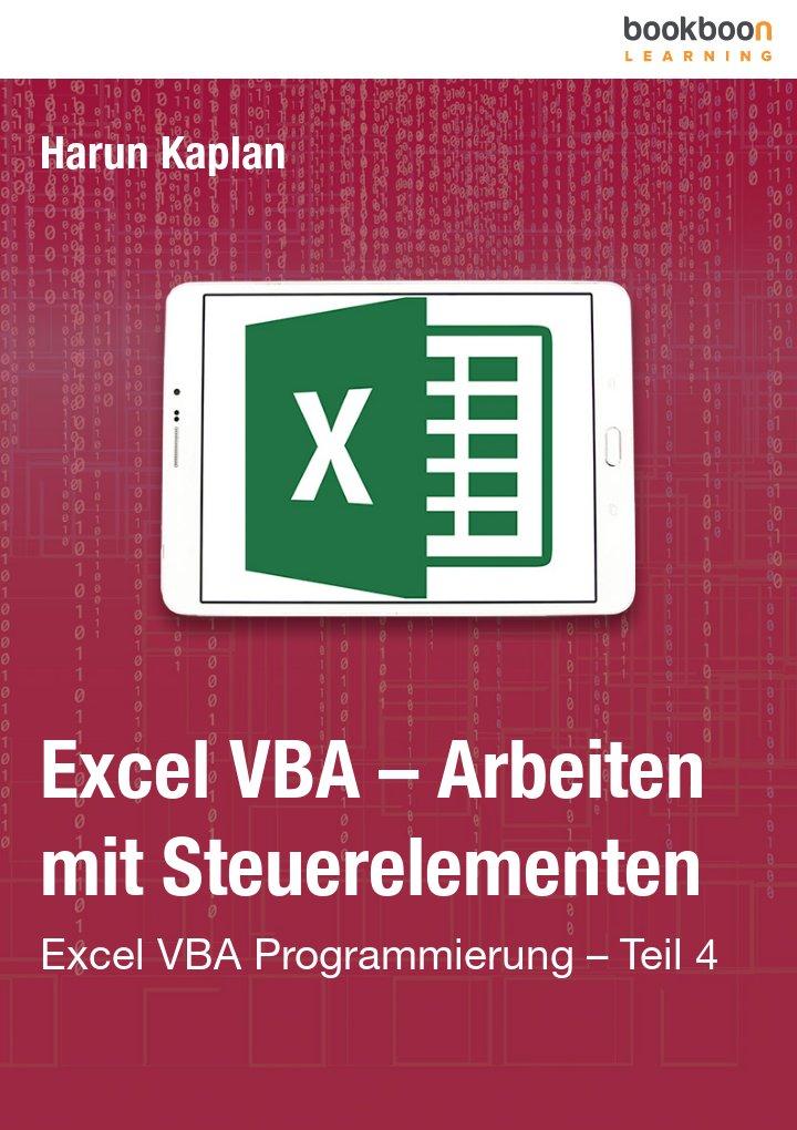 Excel VBA – Arbeiten mit Steuerelementen