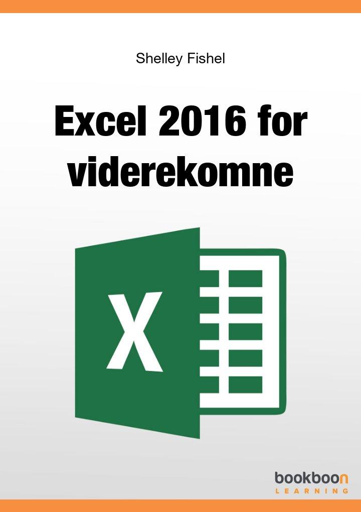 Excel 2016 Avasert