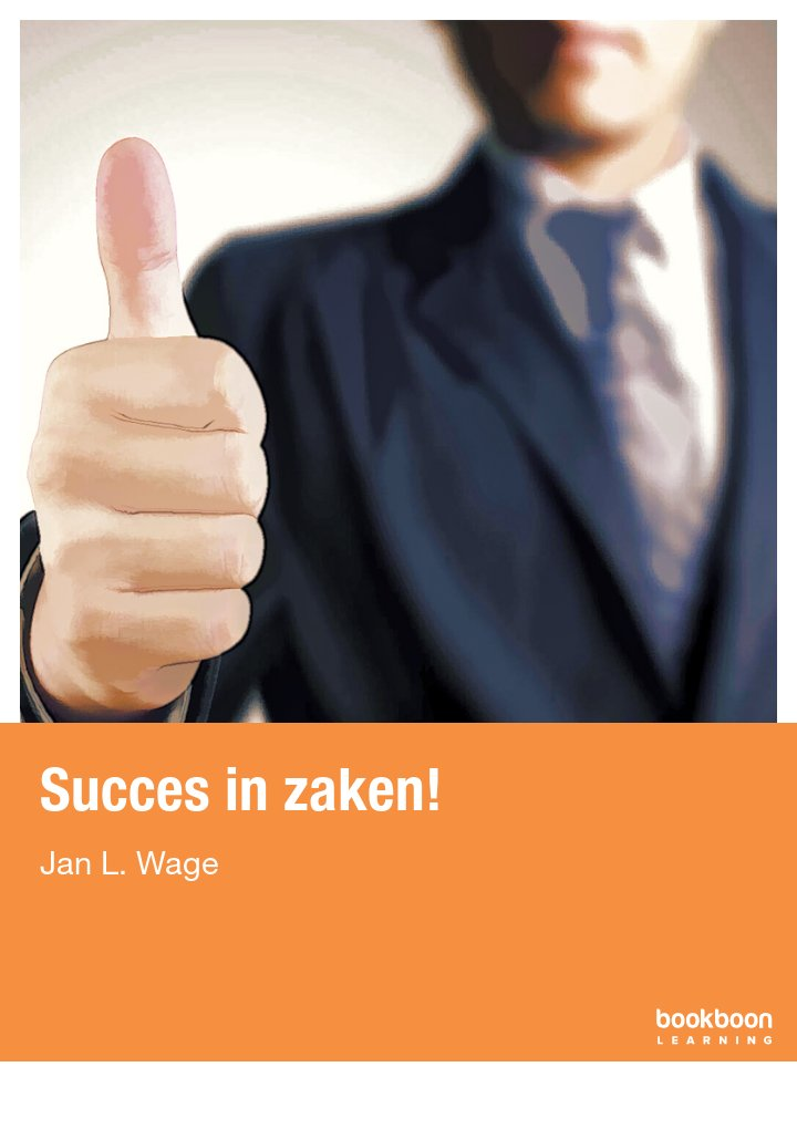 Succes in zaken!