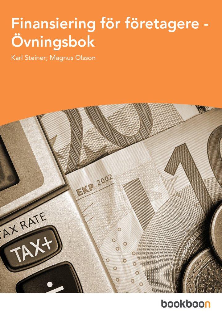 Finansiering för företagere - Övningsbok