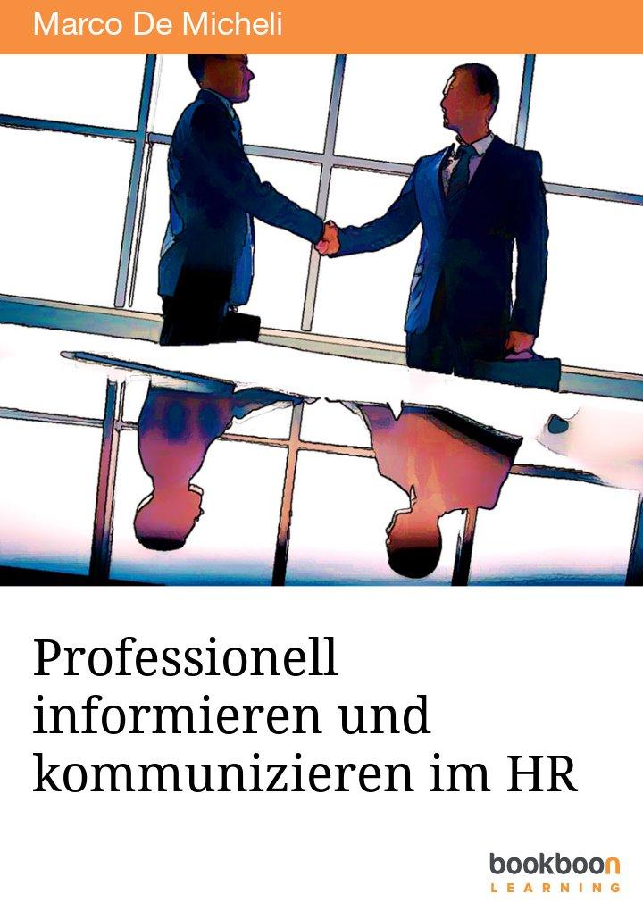 Professionell informieren und kommunizieren im HR