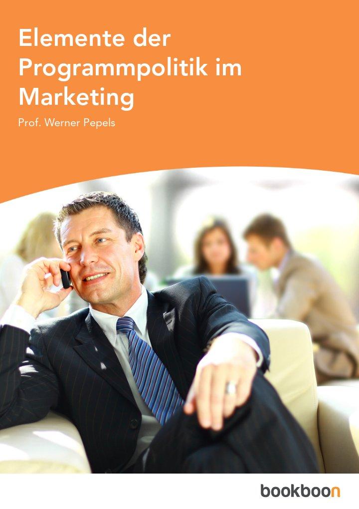 Elemente der Programmpolitik im Marketing