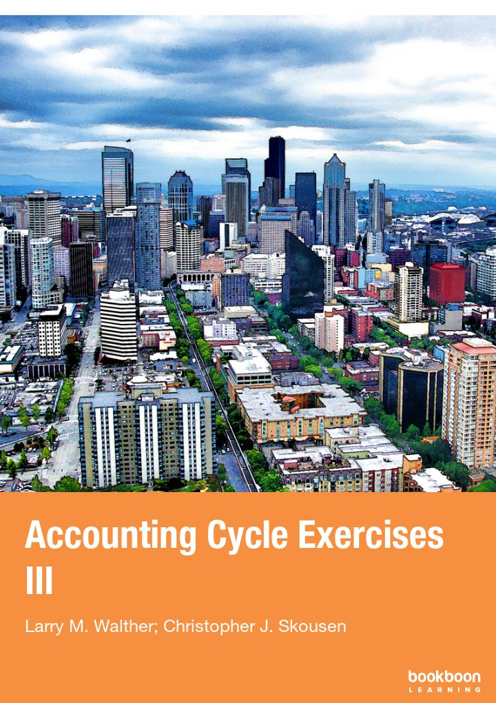 Accounting Cycle Exercises III