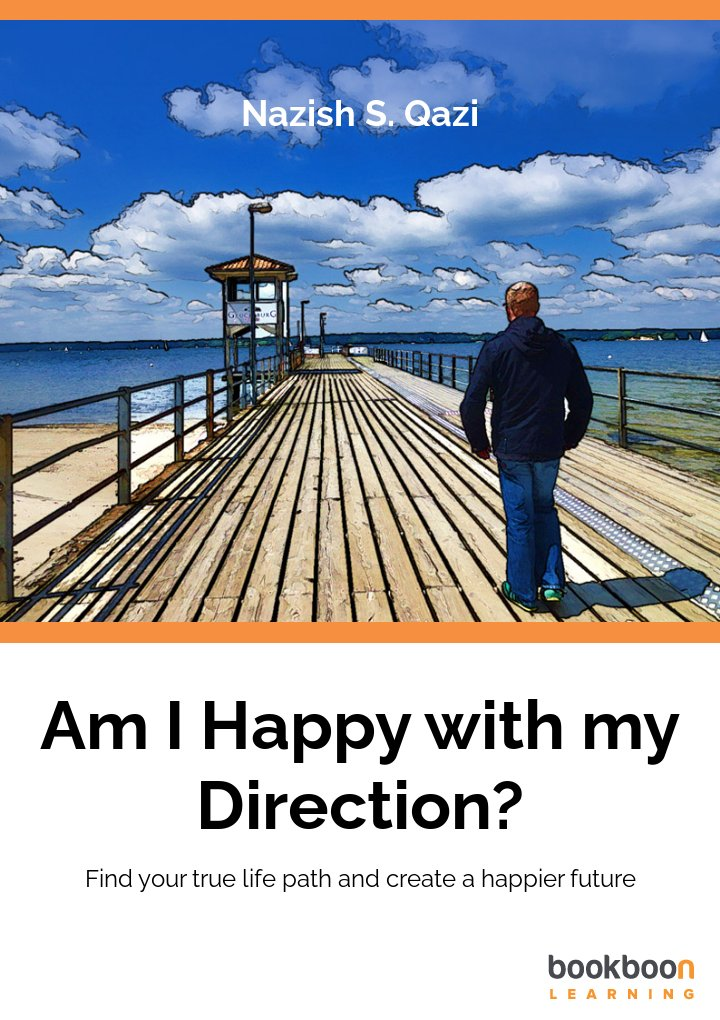 Logo for Am I Happy With My Direction? Find your true-life path and create a happier future