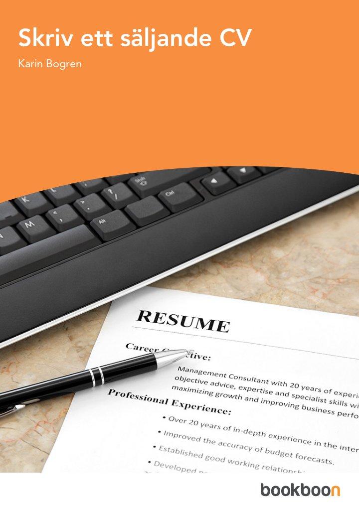 Skriv ett säljande CV