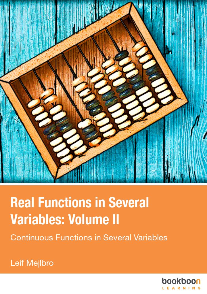 Real Functions in Several Variables: Volume II