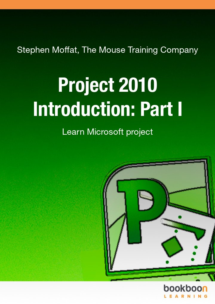 Microsoft office programs books project 2010 introduction part i fandeluxe Choice Image